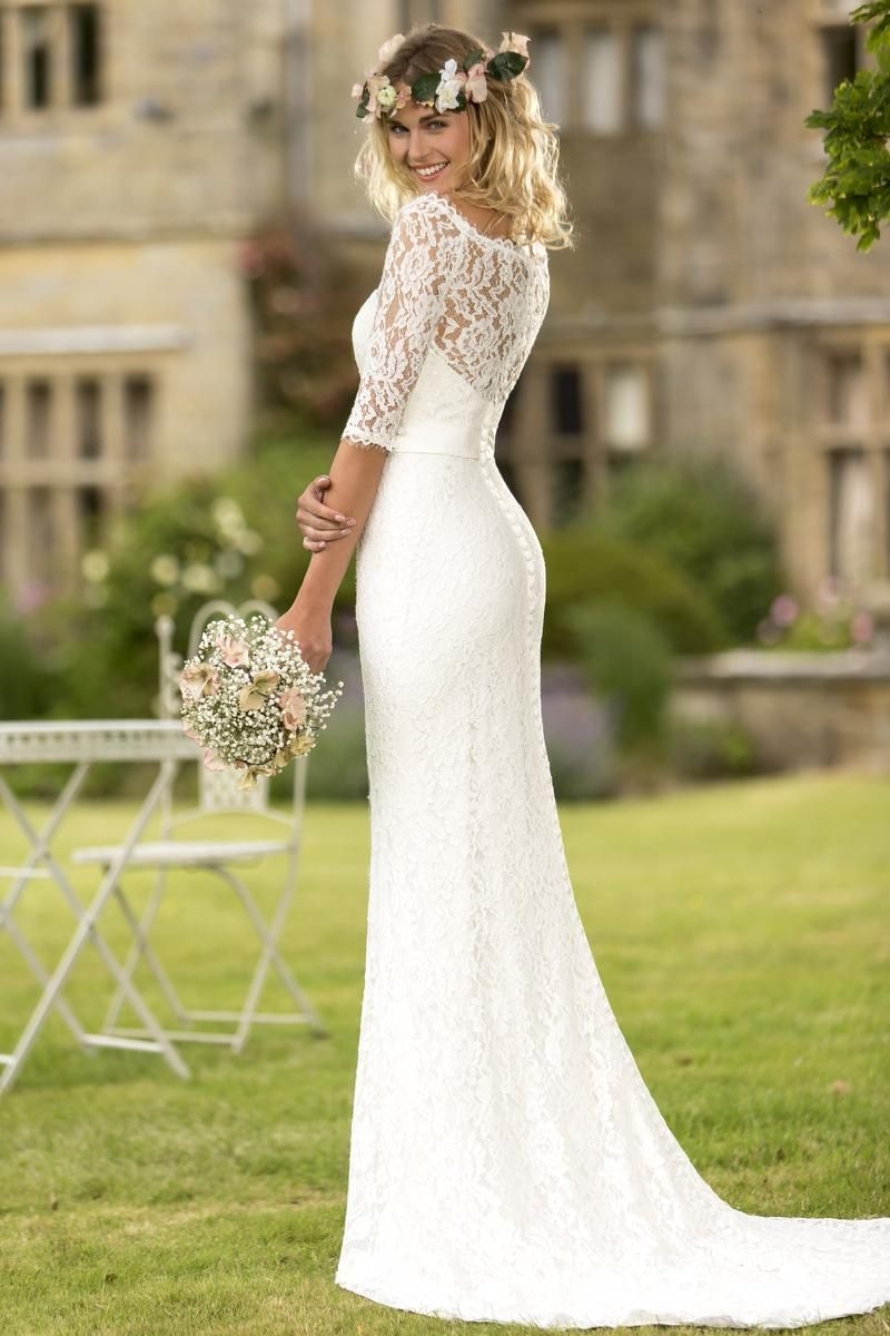 contemporary wedding dresses Contemporary Wedding Dresses and Vintage Inspired Bridal Gowns W True