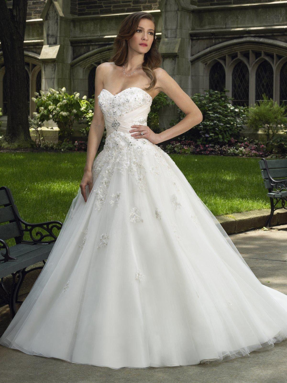 ball gown wedding dress tulletaffeta sweetheart ball gown wedding dress Wedding Ref