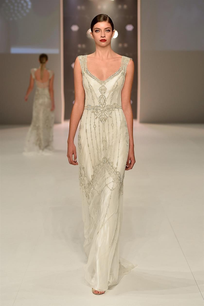 s wedding dress Magical Art Deco Wedding Dresses from Gwendolynne