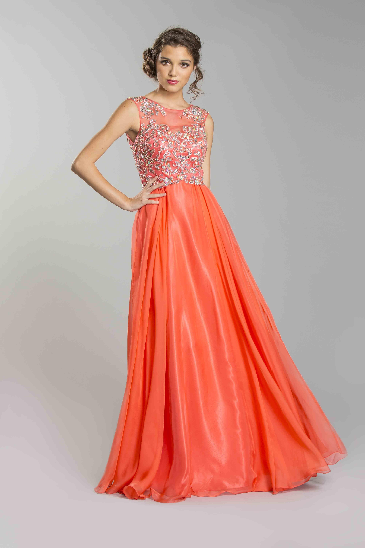 coral dress for wedding Prom dress long coral dresses Best dress ideas Pinterest
