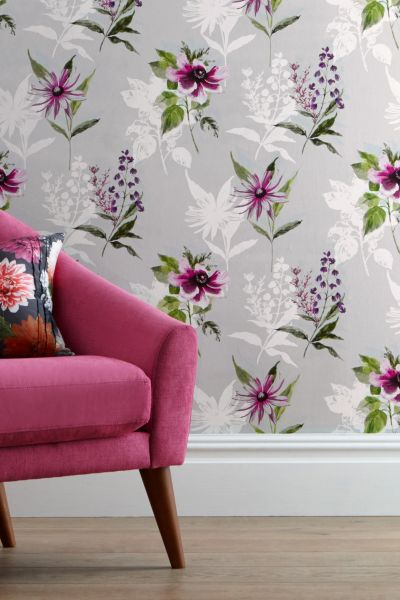 Buy Vibrant Floral Paste The Wall Wallpaper from the Next UK online shop | wallpaper | Pinterest ...