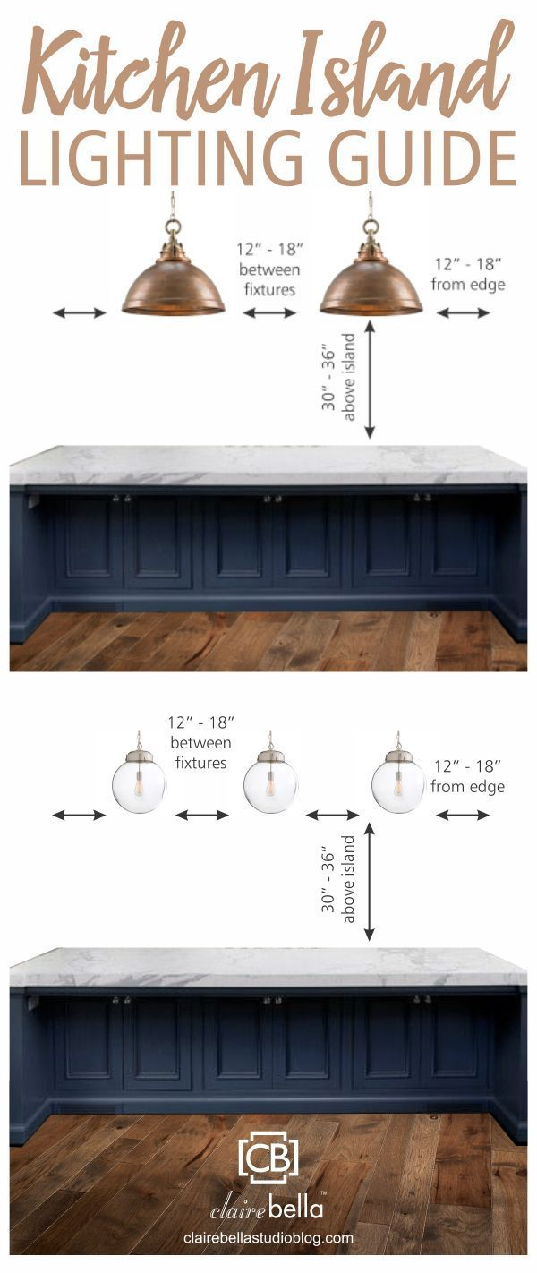 lighting for kitchen island Kitchen Island Lighting Guide How many lights How big How high How far apart