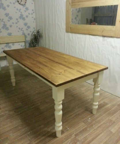 small kitchen tables 4ft 3ft Solid Pine Small Kitchen Table Farmhouse Table