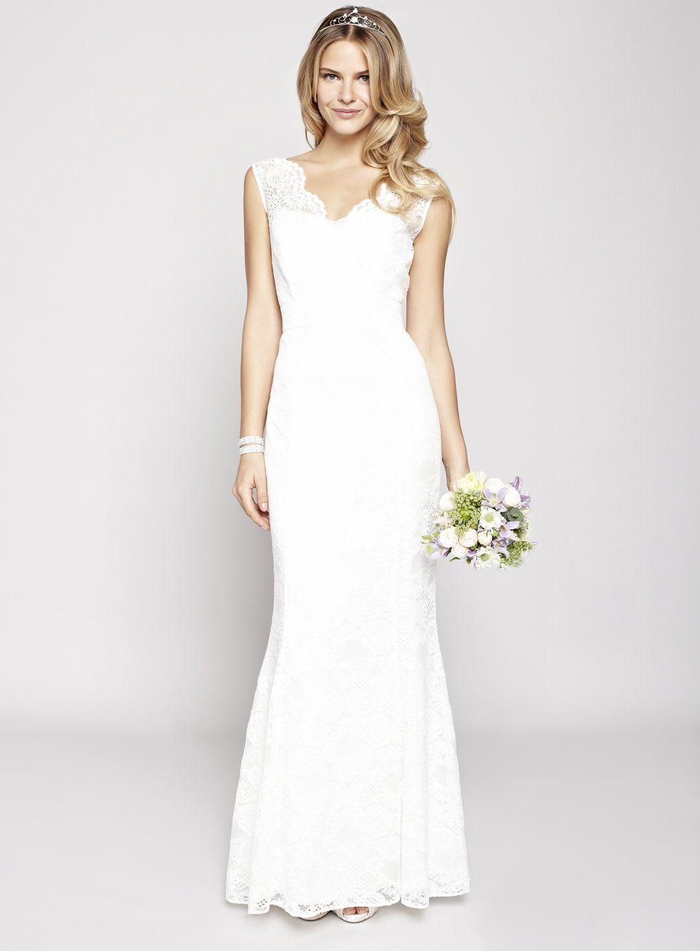 wedding dressing Ivory Florence Wedding Dress BHS