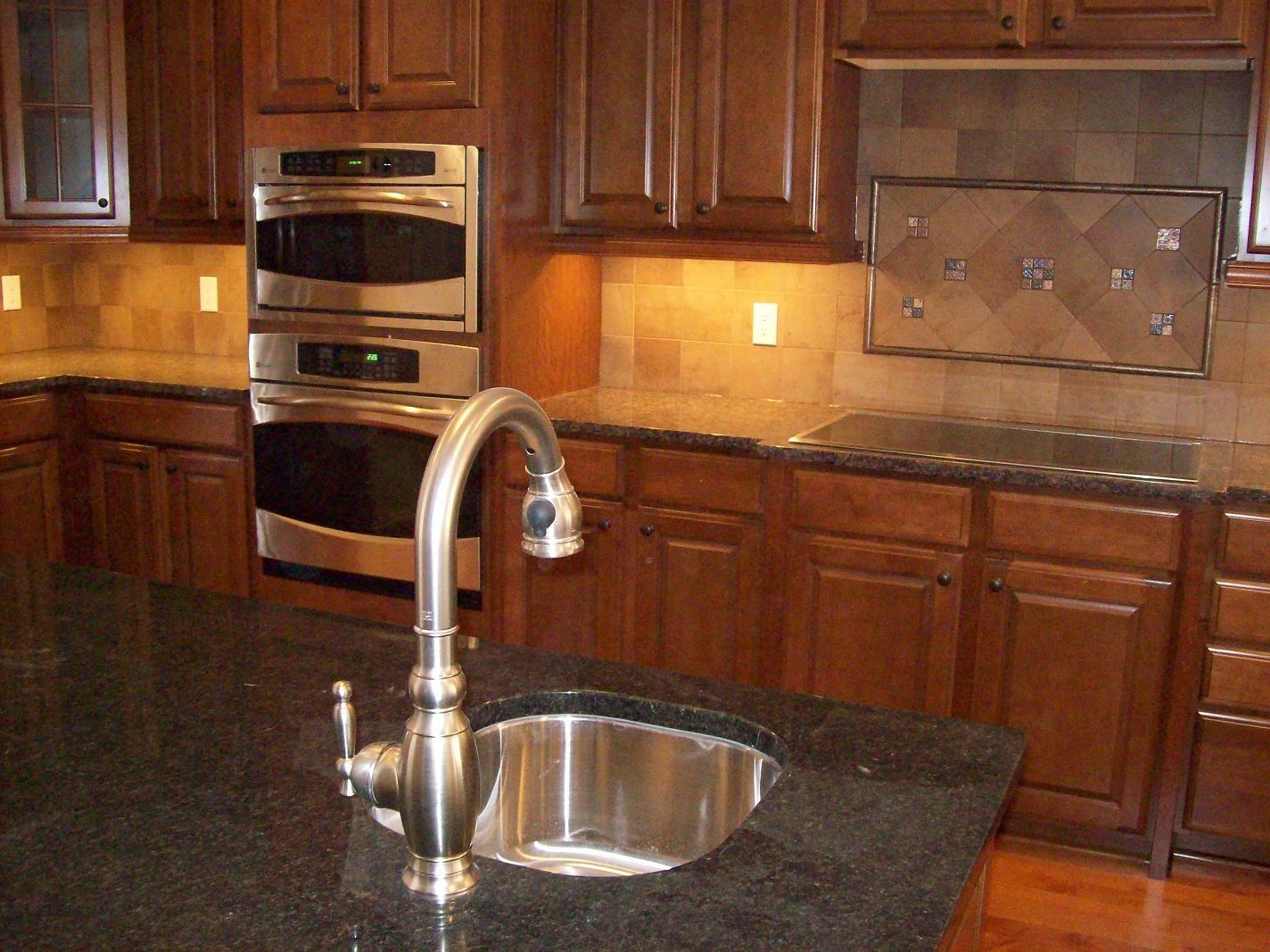 back splashes backsplash for kitchens Travertine with A Diagonal Inlay At DeStefano Remodeling in North Texas we desire to Kitchen TilesKitchen CabinetsKitchen Backsplash