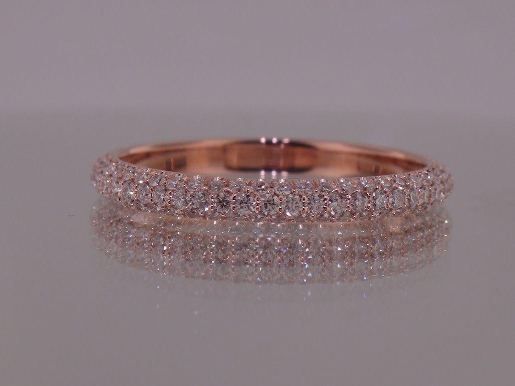 pave wedding bands infinity diamond wedding band 3 wedding bands