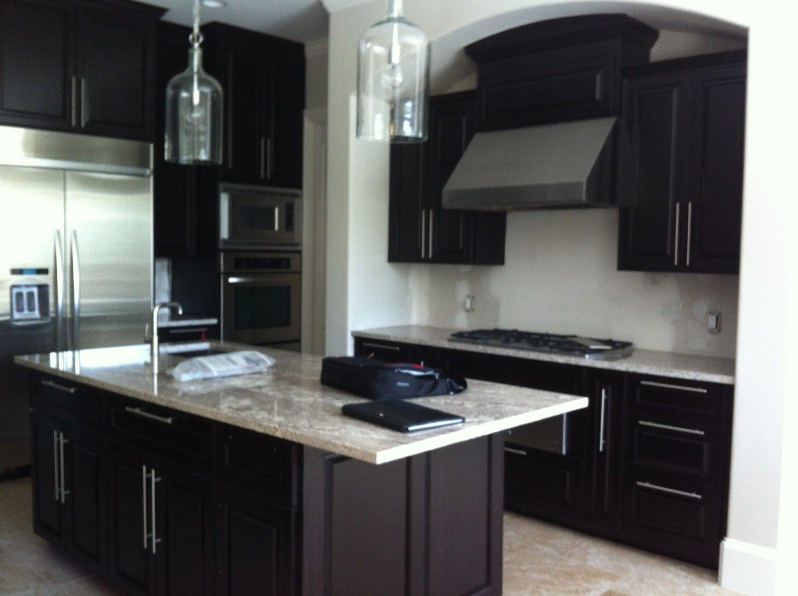 kitchen floor tile ideas with dark cabinets dark kitchen cabinets Images About Kitchens On Custom Cabinets Modern