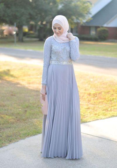 Hijab Evening Gown. Hijab Fashion. With Love, Leena. – A ...