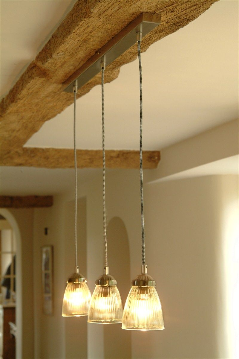 kitchen ceiling lighting Trio Set of Paris kitchen ceiling lights at Garden Trading