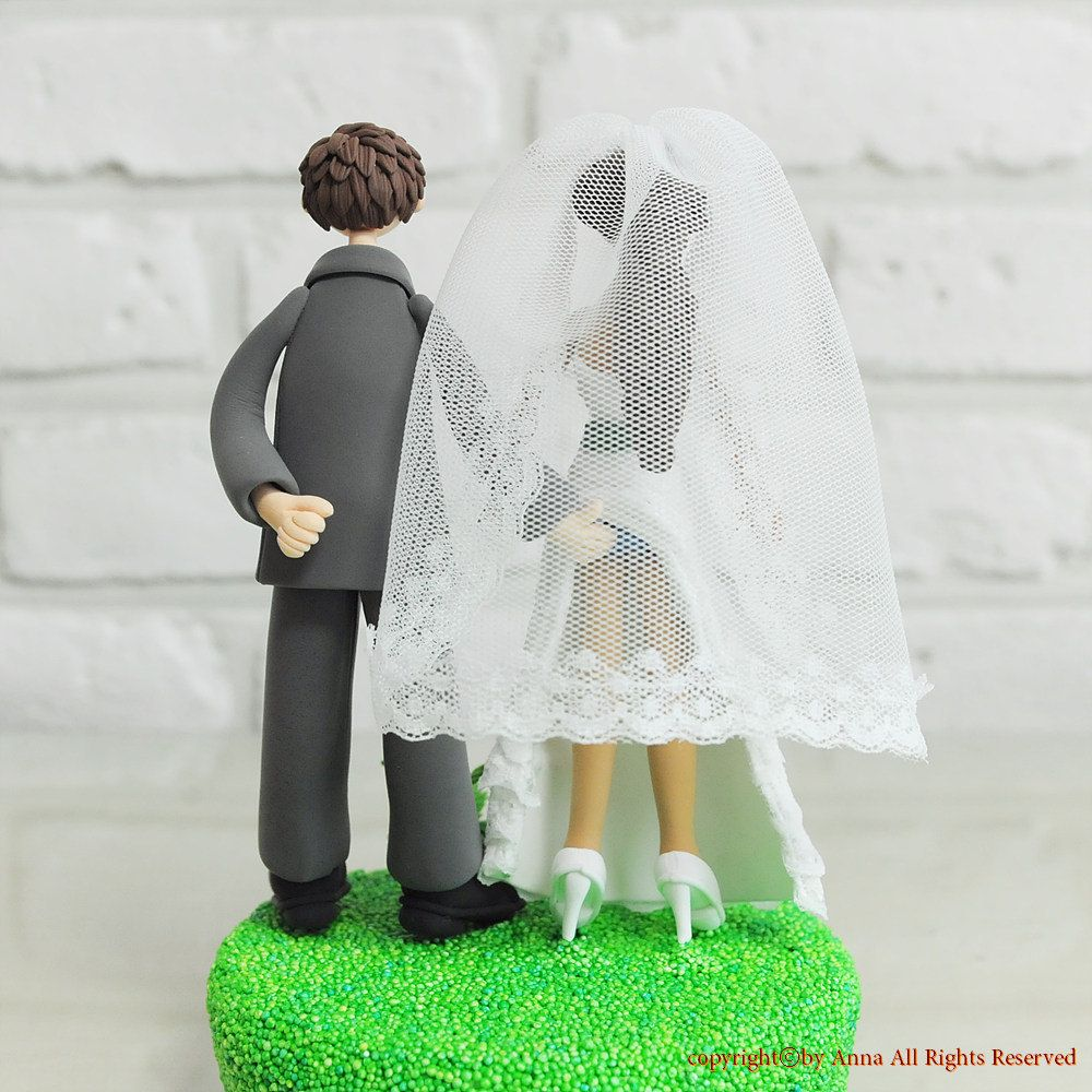 wedding cake toppers funny Wedding Cake Topper Custom Cake Topper Sensual Theme Topper Funny Cake Topper Custom Wedding Cake Topper
