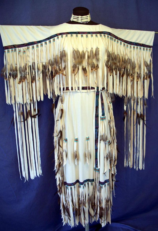 native american wedding dress Deer Speaks Softly Designs Native American Style Wedding Dresses