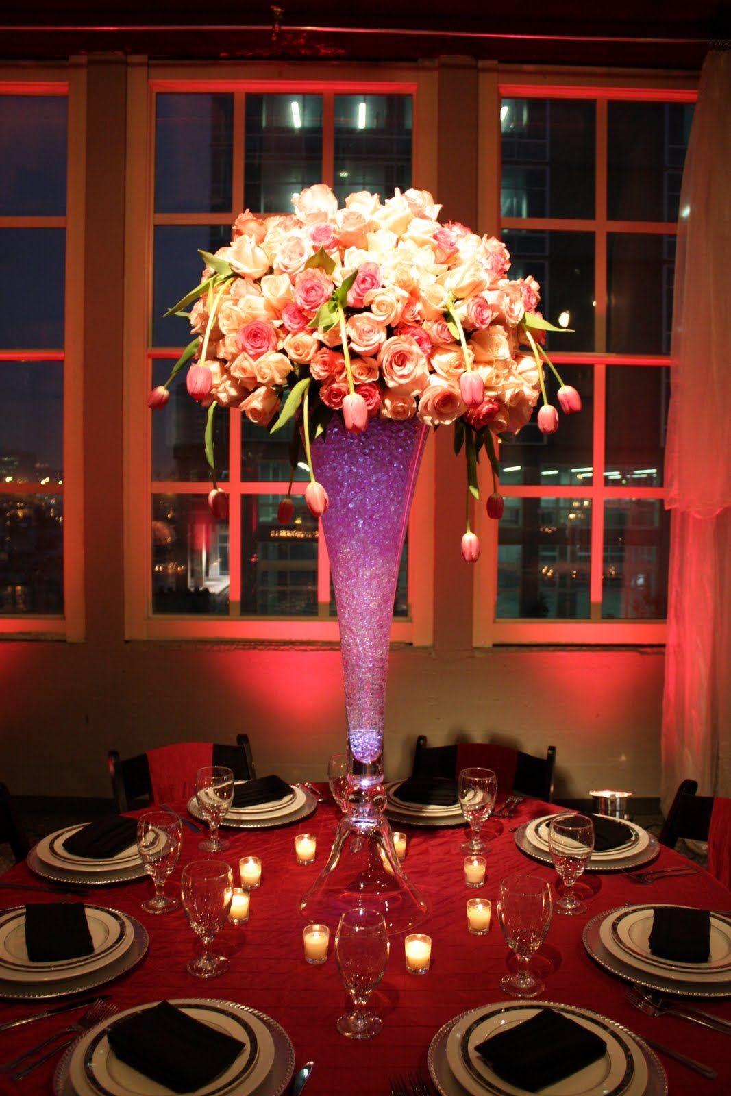 tall wedding centerpieces The Best 10 Tall Wedding Centerpieces