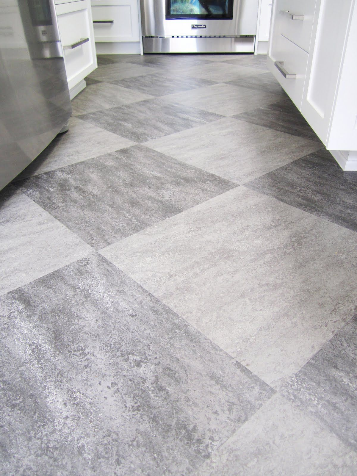 kitchen flooring ideas harlequin tile floors harlequin of grey on grey tiles is used on the