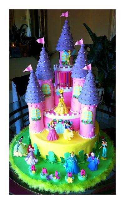 Princess Castle Cake | Princess Sophia bday | Pinterest | Princess castle, Castles and Princess