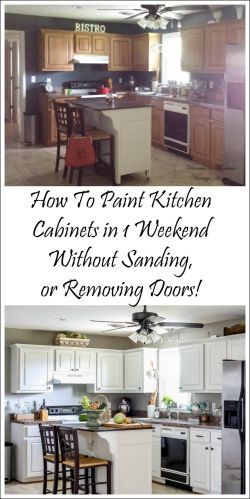 kitchen cabinets near me How I Painted My Kitchen Cabinets Without Removing The Doors