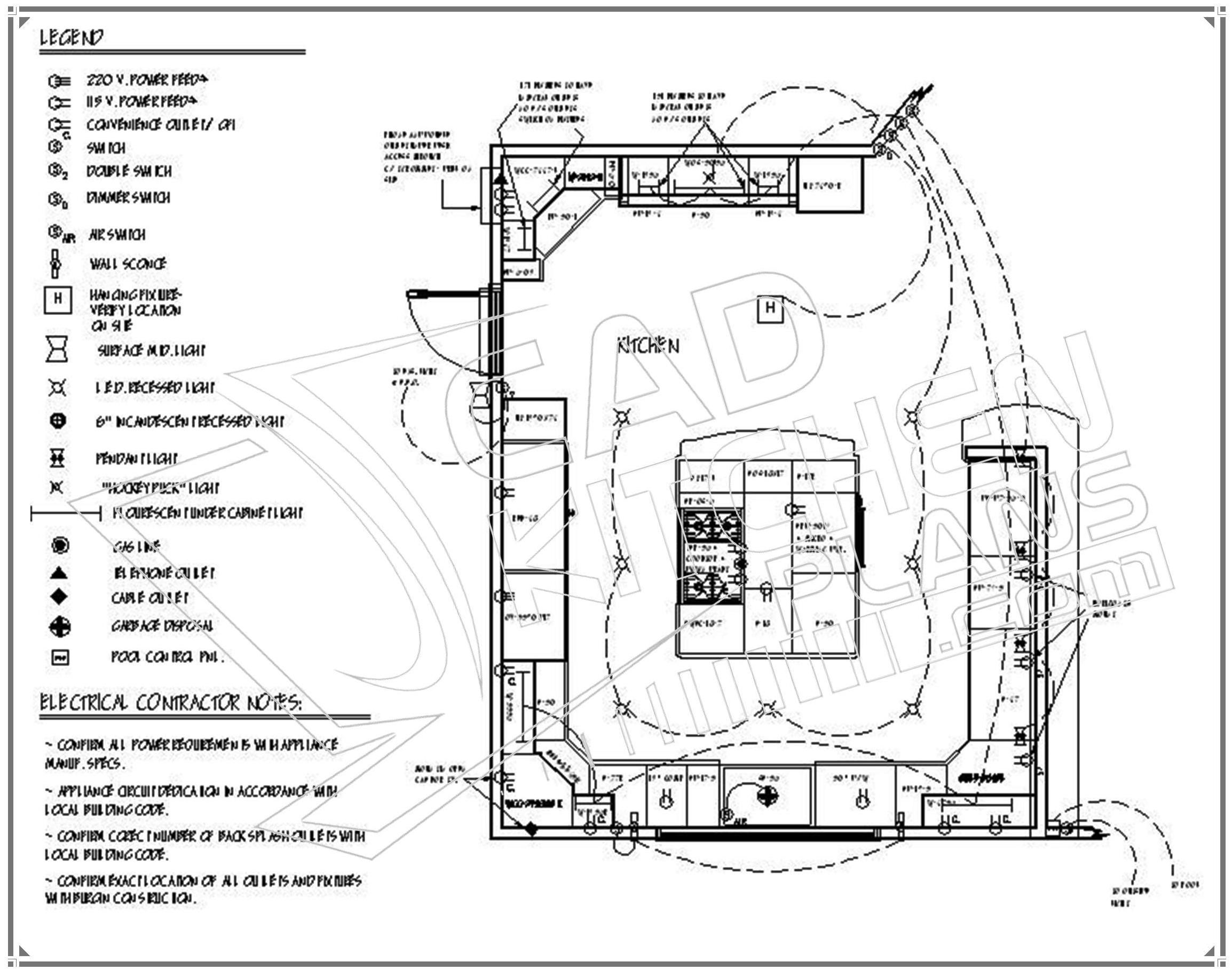 kitchen floor plans kitchen floor plans Kitchen Design Plans 3