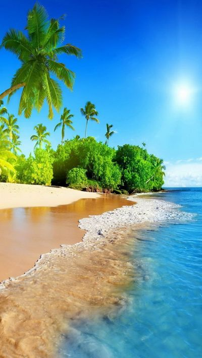 tropical island #iPhone #5s #Wallpaper | iPhone 5(s) Wallpapers | Pinterest | Iphone 5s ...