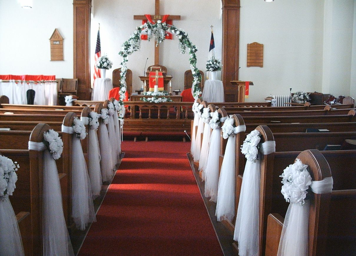 cheap wedding decorations Church Wedding Decoration For more great ideas and information about our venues visit our website