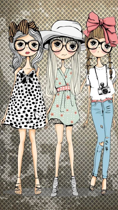 Cute girls ★ Find more preppy wallpapers for your #iPhone ...