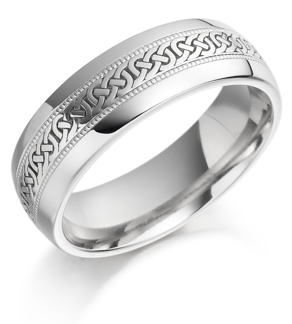platinum wedding bands men s celtic wedding bands Irish Wedding Ring Mens Celtic Knot Gold Irish Wedding Band
