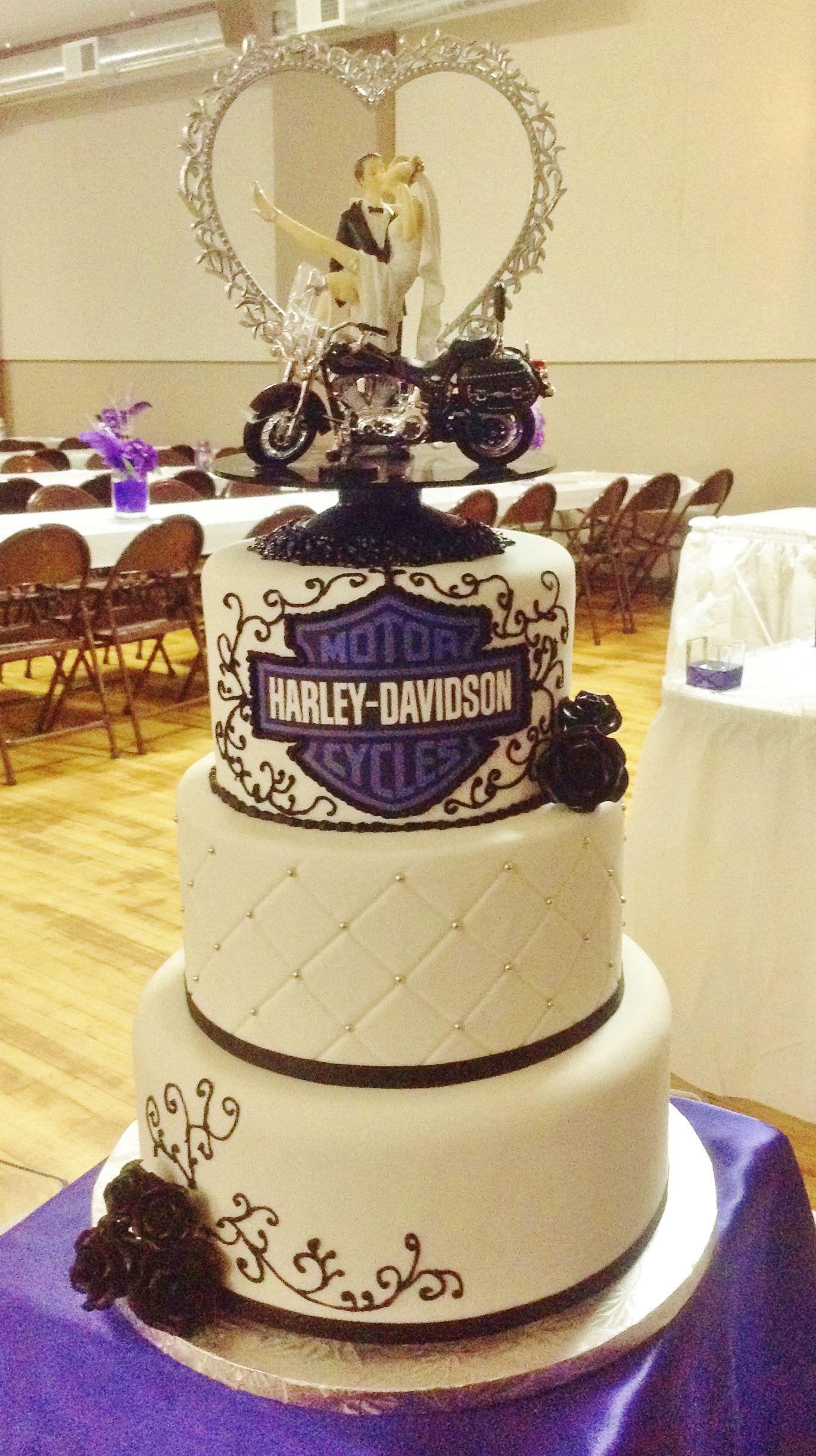harley davidson wedding rings Harley Davidson wedding theme