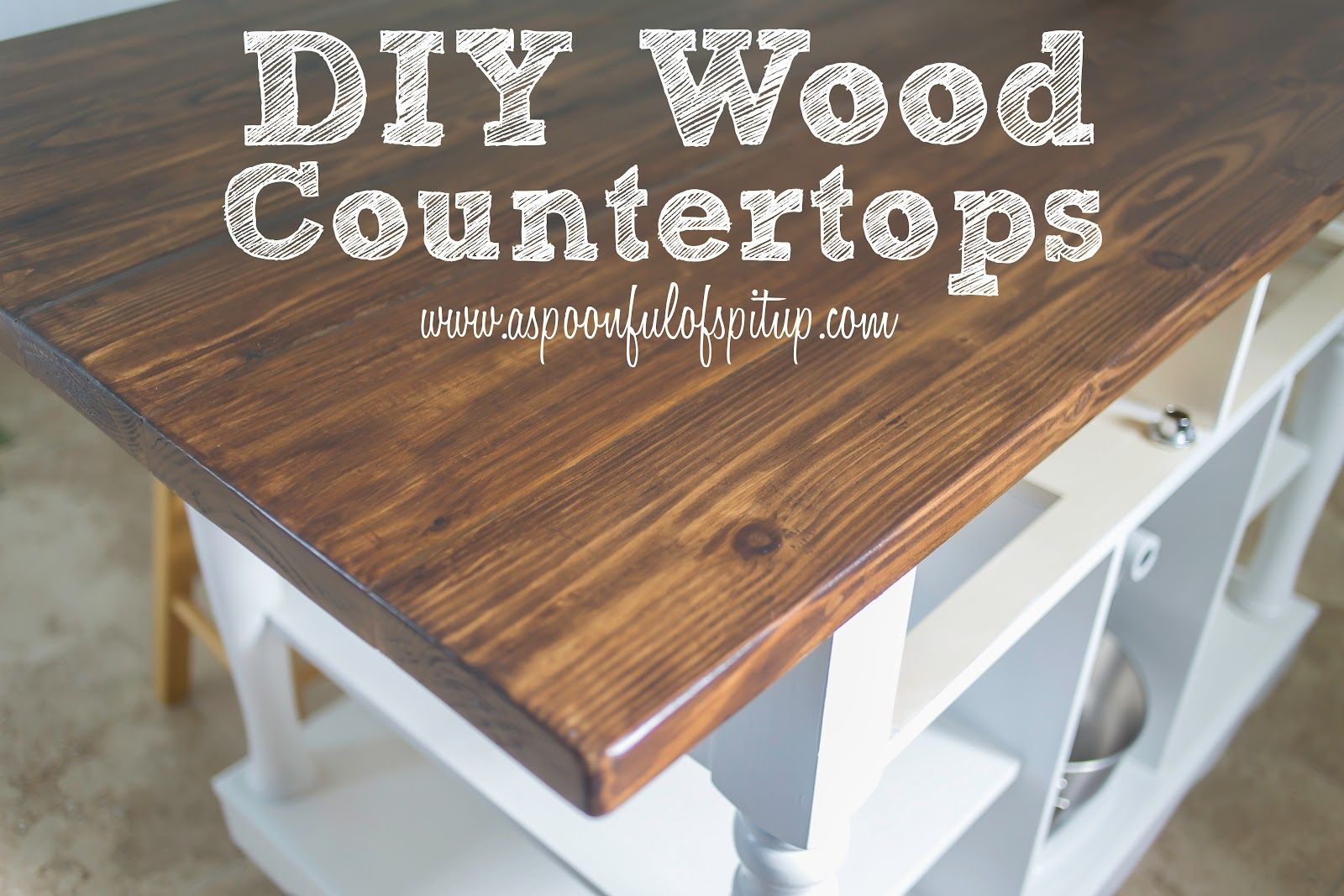 cheap kitchen countertops Charming Butcher Block Countertops For Kitchen Furniture Inspiration A Spoonful Of Spit Up DIY Wood Butcher Block Countertops
