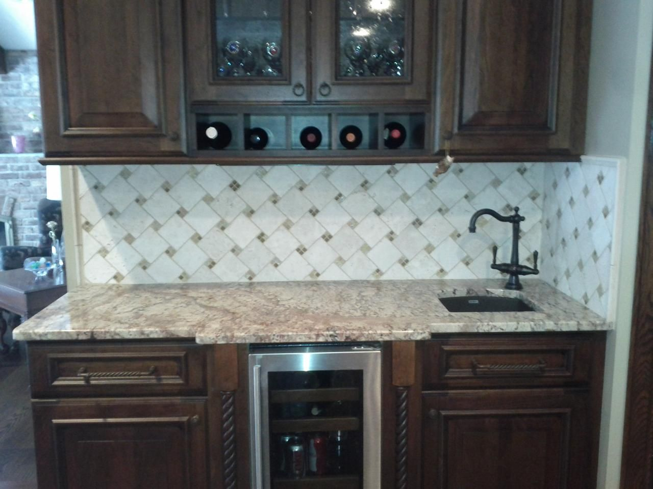 kitchen tile backslash kitchen tile backsplash 10 best images about kitchen tile backslash on Pinterest Kitchen backsplash design Marbles and Kitchen backsplash