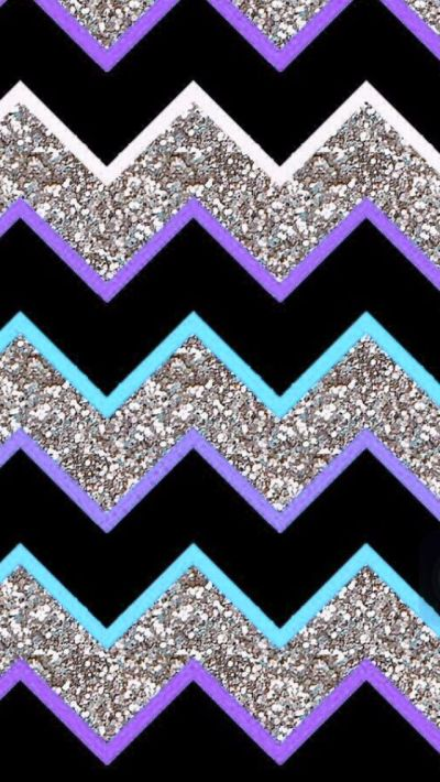 Purple teal grey glitter chevron | Iphone Wallpapers | Pinterest | Glitter chevron, Purple teal ...