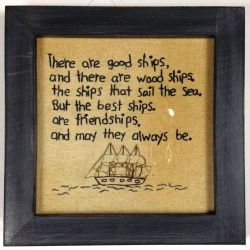 Good Ships and Friendships Friendship Ships and Friendship Quotes