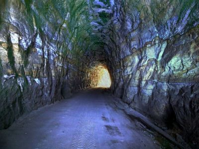 gold mine | Gold Mine Tunnel Wallpaper | mines | Pinterest