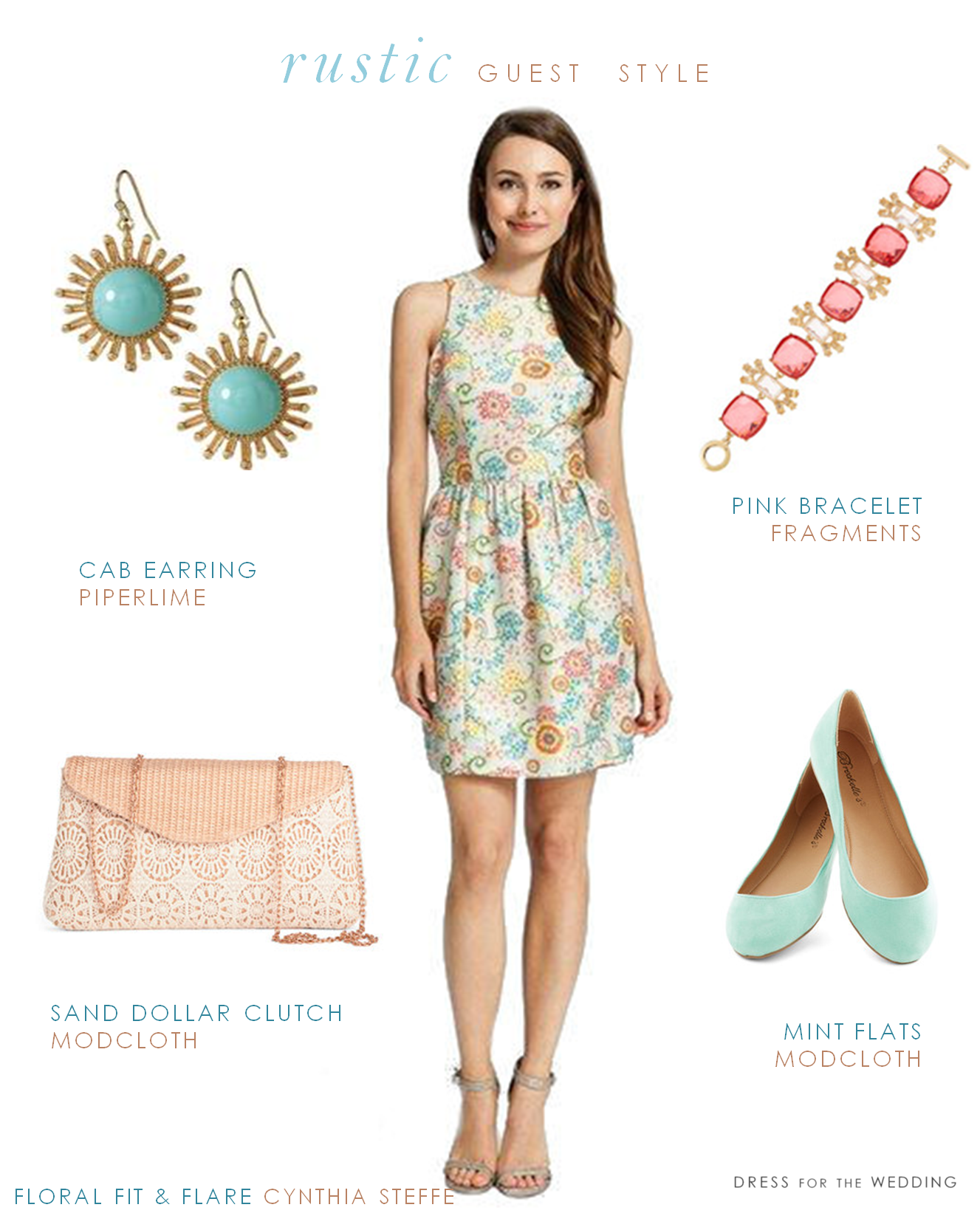 cute wedding guest dresses What Should a Guest Wear to a Rustic Wedding