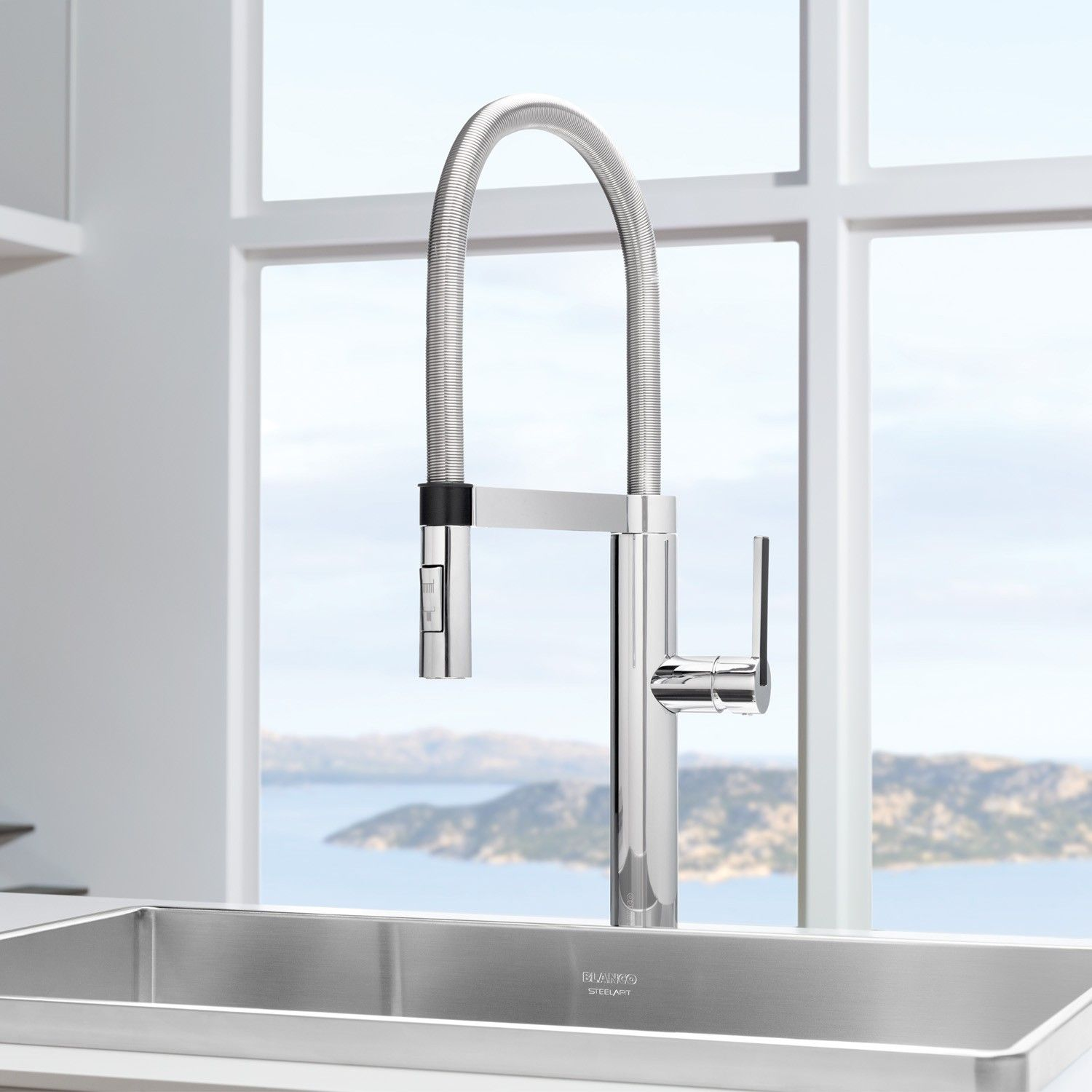 rohl kitchen faucets Culina Semi Pro Kitchen Faucet by Blanco YLiving