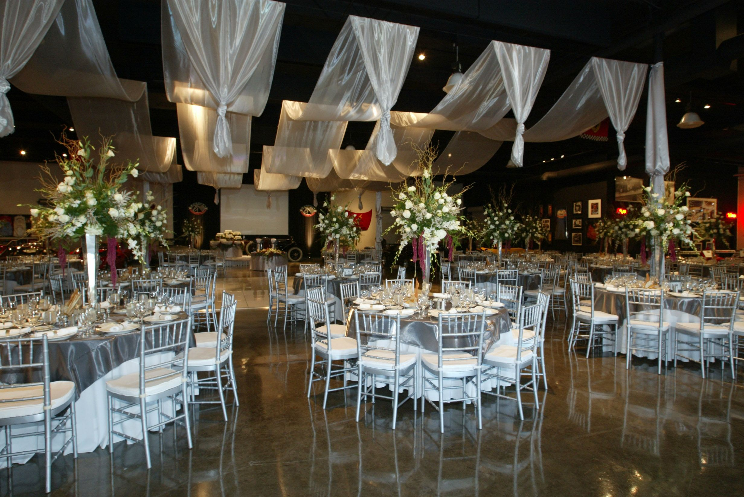 cheap wedding decorations Christmas Wedding Decorations Ideas for Reception with White Color Theme