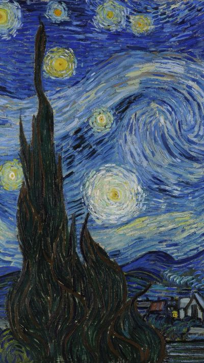 Van Gogh's painting in iPhone wallpaper | It's Van Gogh | Pinterest | Wallpaper, Vans and Paintings