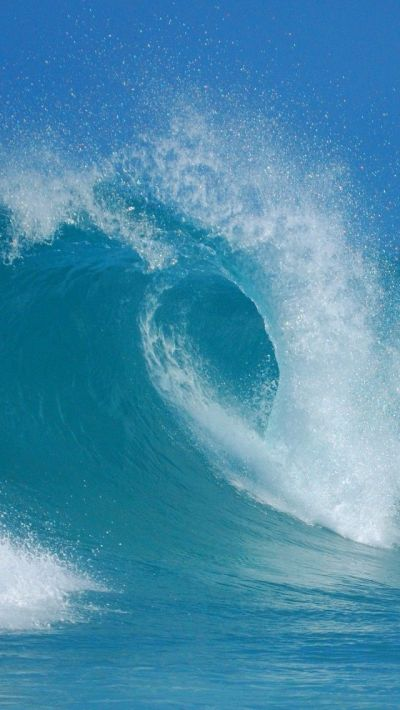 Sea, Wave, Australia, Blue iPhone 5 wallpapers, backgrounds, 640 x 1136 | (On) Rivers, seas and ...