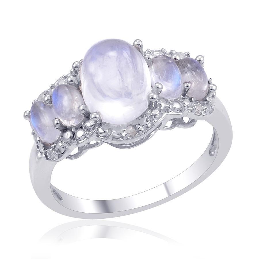 moonstone wedding ring sets moonstone engagement ring Google Search