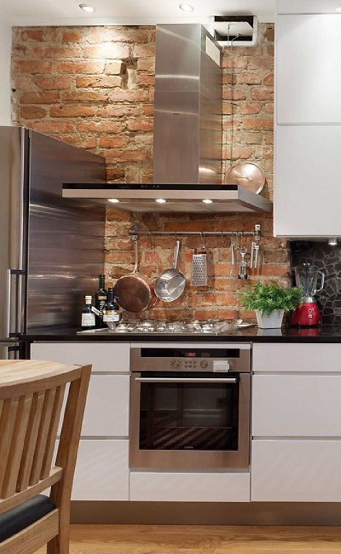 backsplash for kitchens brick backsplash for kitchens Interior Brick Wall Design Fabulous Brick Wall Kitchen Backsplash