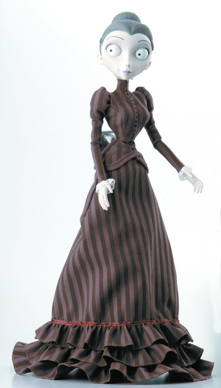 corpse bride wedding dress Corpse Bride Victoria Collection Doll