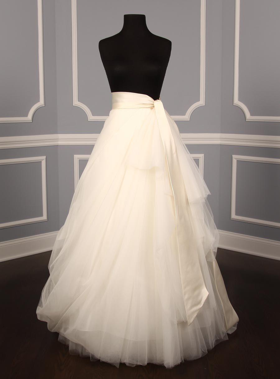 wedding dress skirt DIY Tulle Wedding Skirt Tutorials Shops Wedding skirt and The o jays