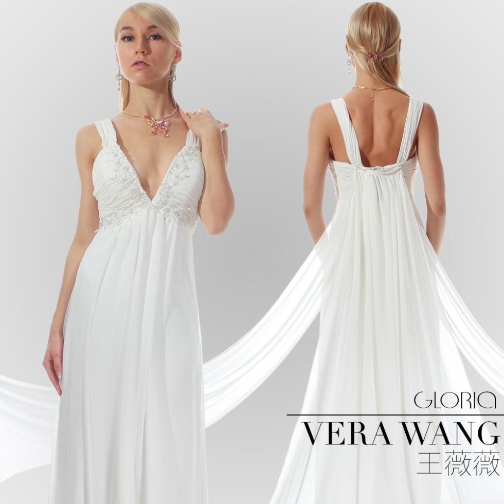 grecian wedding dress Greek Style Goddess Wedding Gown Gloria By Vera Wang MORE on http