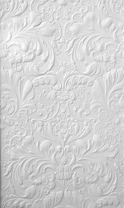 "chasingrainbowsforever: "" Embossed Wallpaper ~ White ..."
