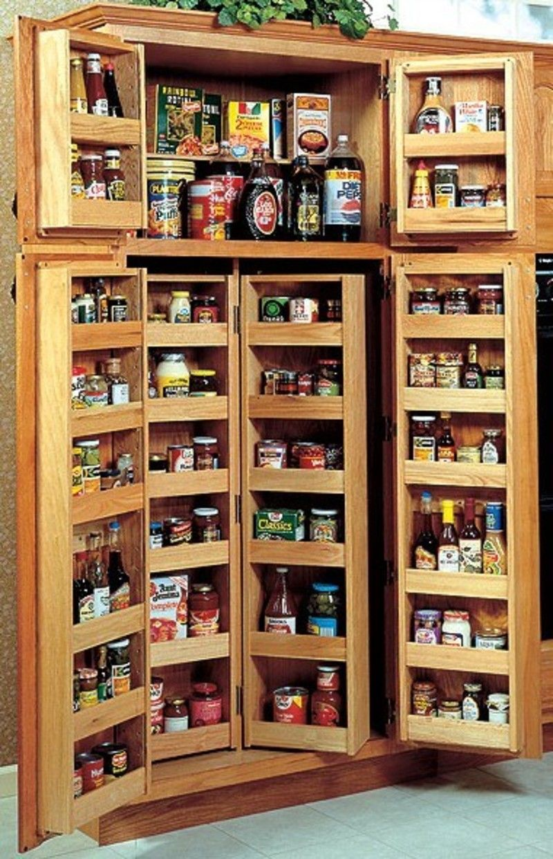 kitchen storage cabinet Functional Kitchen Cabinet Storage Ideas to Make Tidy Appearance Choosing A Kitchen Pantry Cabinet