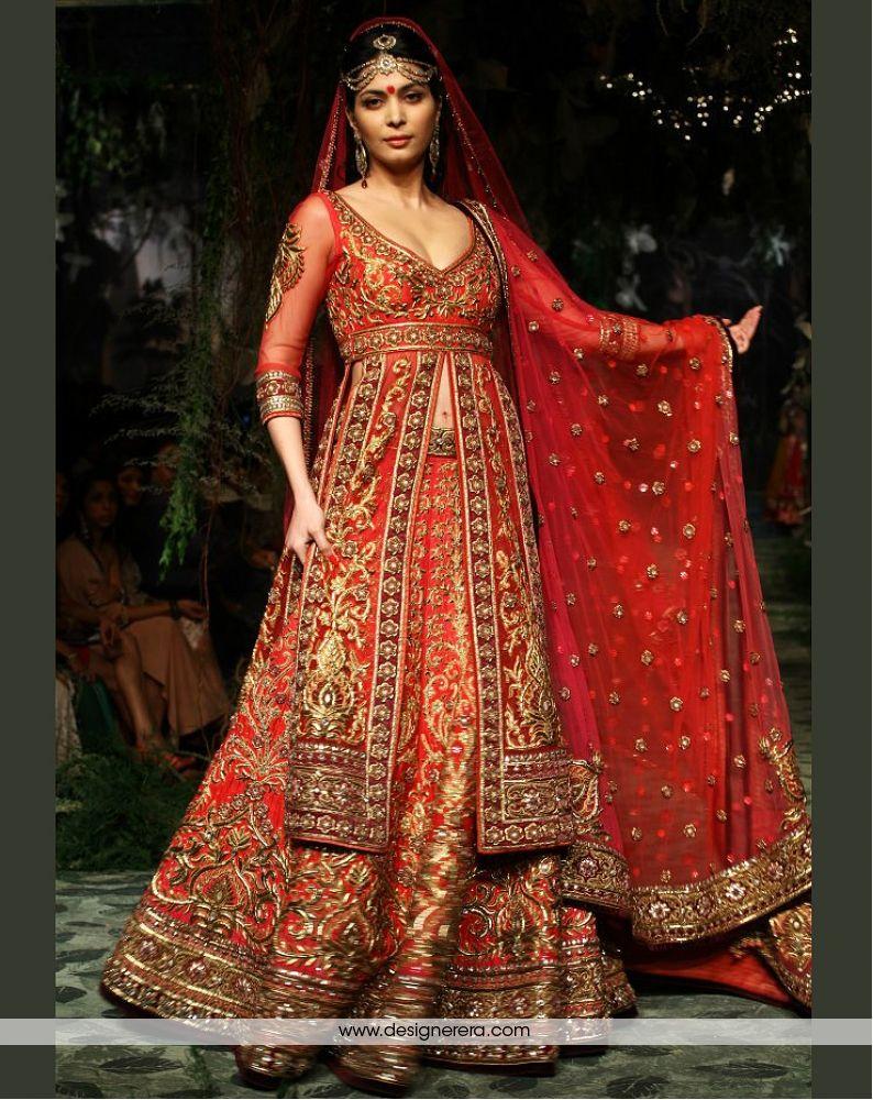 wedding lehenga Wonderous Red Fully Worked Bridal Lehenga Occasion wedding Collection Bridal Wear Color Red