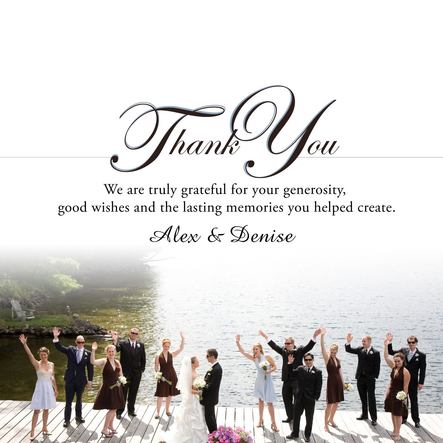 thank you cards wedding Wedding Thank You Cards in a hurry