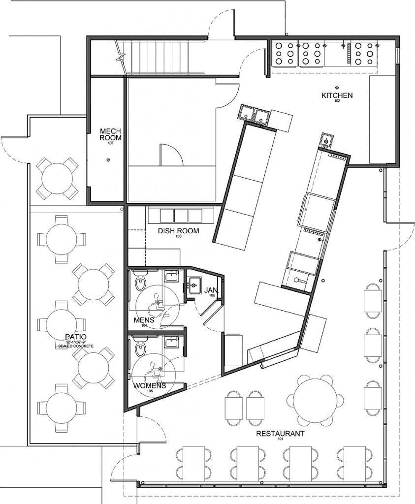 commercial kitchen flooring Kitchen Stunning Modern Style Floor Plan Commercial Kitchen