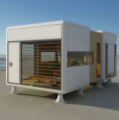 Portable Prefab Pod Home: Compact, Minimal & Modern | Tiny ...