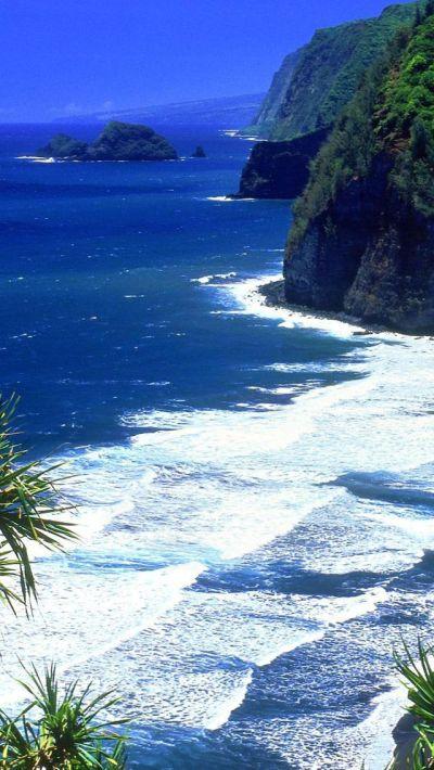 Hawaii Beach iPhone 5s wallpaper   Watery Wallpaper ...
