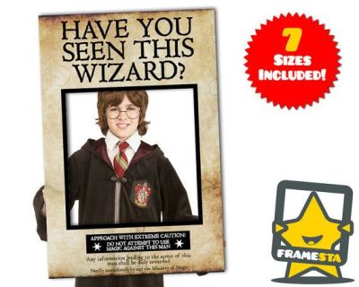 Have You Seen This Wizard Photo Booth Prop (Instant Download) Harry Potter Decorations, Azkaban ...