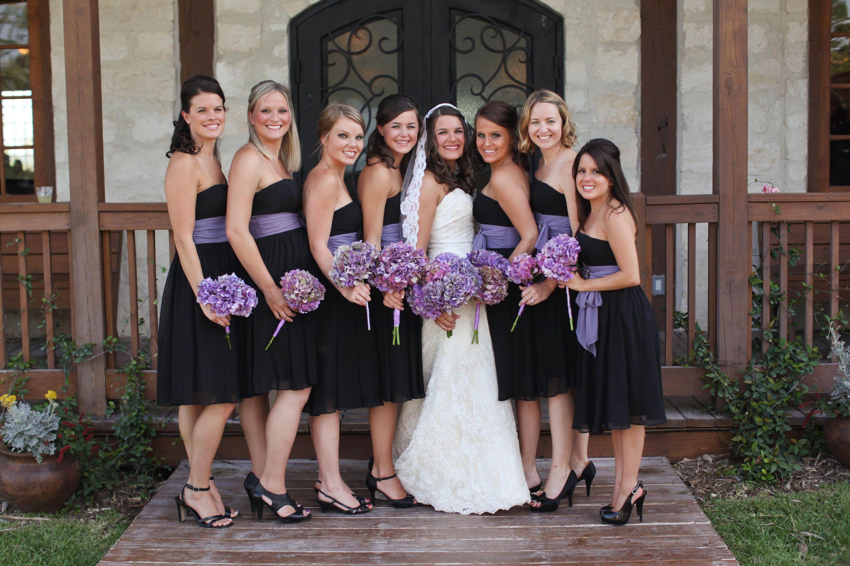 black wedding dresses Bridesmaid