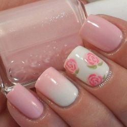 43 Cute and Easy Floral Nail Arts Design Nail Tech